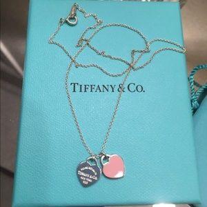 Tiffany's Double Heart Necklace